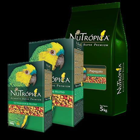 NUTRÓPICA® PAPAGAIO COM FRUTAS – EMBALAGENS: 300G