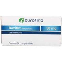 Antimicrobiano Ouro Fino Doxifin de 14 Comprimidos - 50 mg