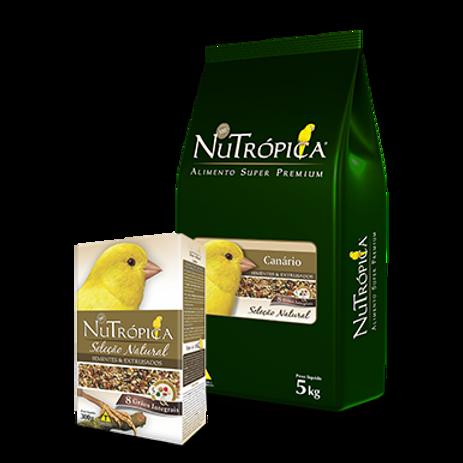 NUTRÓPICA® SELEÇÃO NATURAL CANÁRIO – EMBALAGENS DE 300G