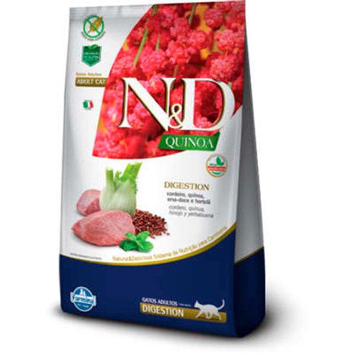 N&D Quinoa Digestion Cordeiro para Gatos Adultos