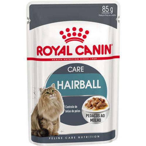 Ração Royal Canin Sachê Feline Hairball Care Eliminação de Pelos Ingeridos para