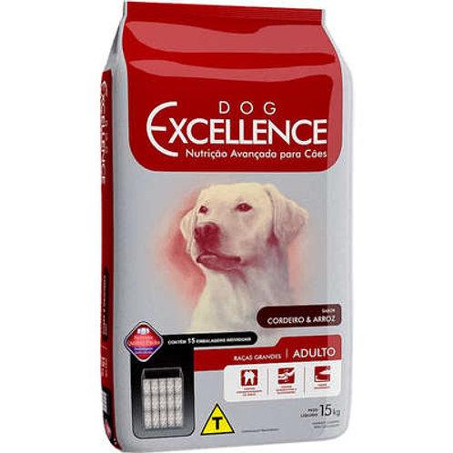 Dog Excellence Cães Adultos Raças Grandes Cordeiro e Arroz