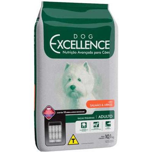 Dog Excellence Cães Adultos Raças Pequenas Salmão e Arroz