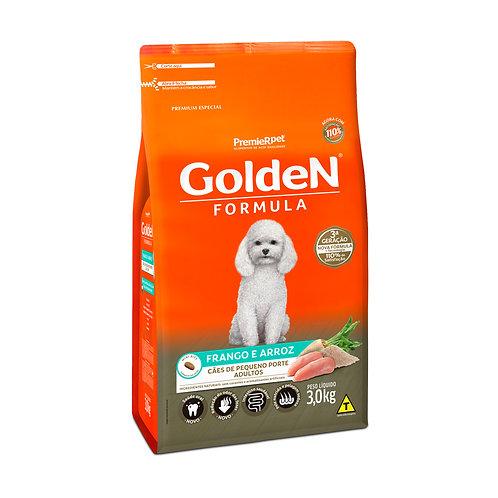 Ração Golden Fórmula Mini Bits para Cães Adultos de Pequeno Porte Sabor Frango