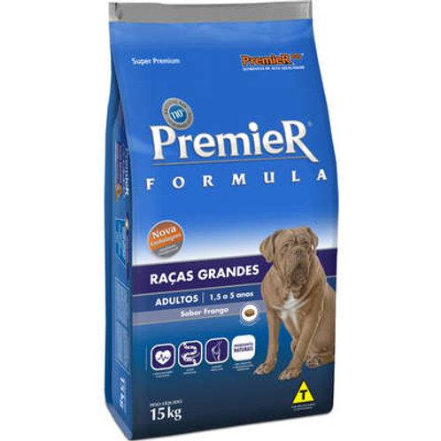 Ração Premier Pet Formula Cães Adultos Raças Grandes e Gigantes Frango