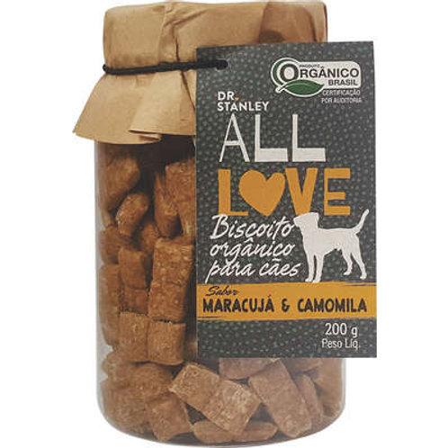 Biscoito Orgânico All Love Maracujá & Camomila para Cães