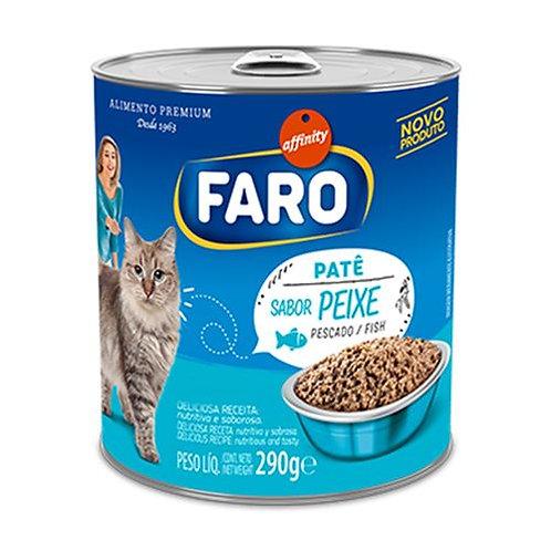 Faro Lata Patê Peixe Para Gatos 290g