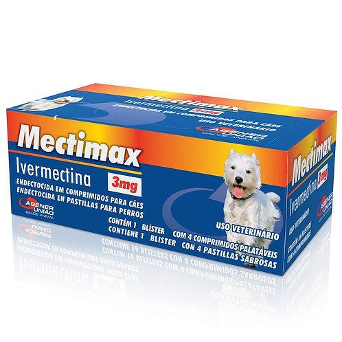 Mectimax Agener União 3mg 1 Blíster com 4 comprimidos