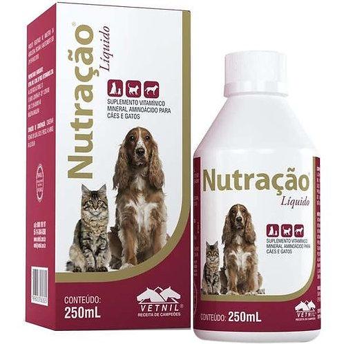 Suplemento Alimentar Para Cães E Gato Nutração 250 Ml Vetnil