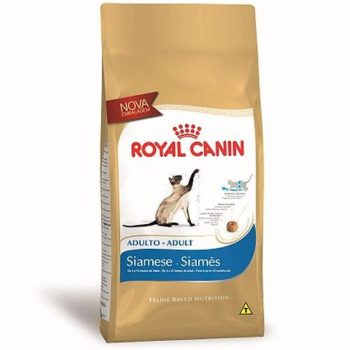 Ração Royal Canin Siamês - Gatos Adultos - 1,5kg