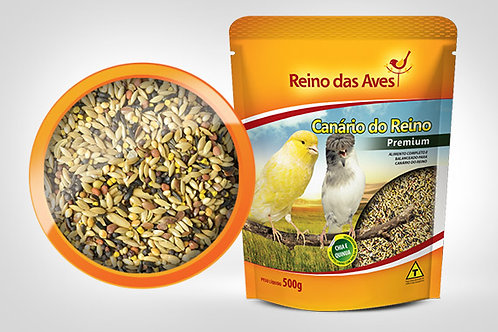 CANÁRIO DO REINO GOLD MIX- REINO DAS AVES 500g