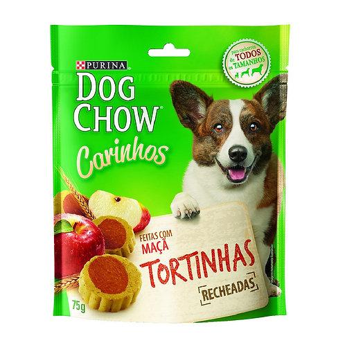 Petisco Dog Chow Carinhos Tortinhas para Cães Adultos e Filhotes Sabor Maçã - 75