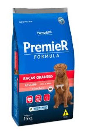 Ração Premier Cães Adultos Raças Grandes Carne