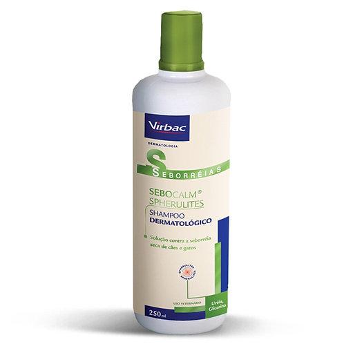 Sebocalm Spherulites Shampoo Virbac para Cães e Gatos