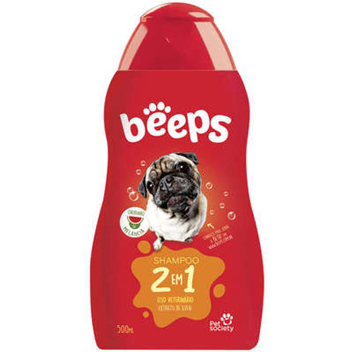 Shampoo Pet Society Beeps 2 em