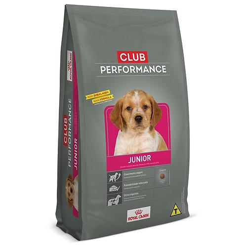 Ração Royal Canin Club Performance Junior Cães Filhotes