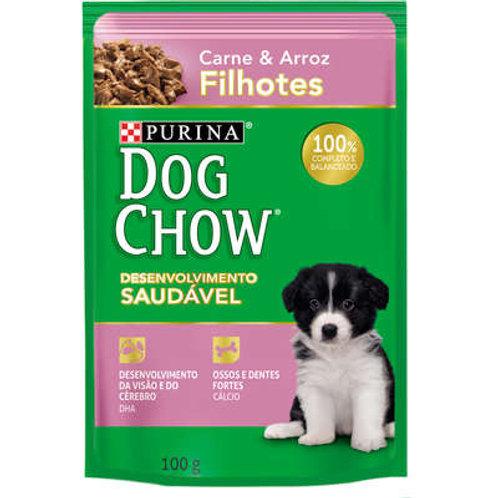 Ração Nestlé Purina Dog Chow Filhotes Sachê Carne e Arroz