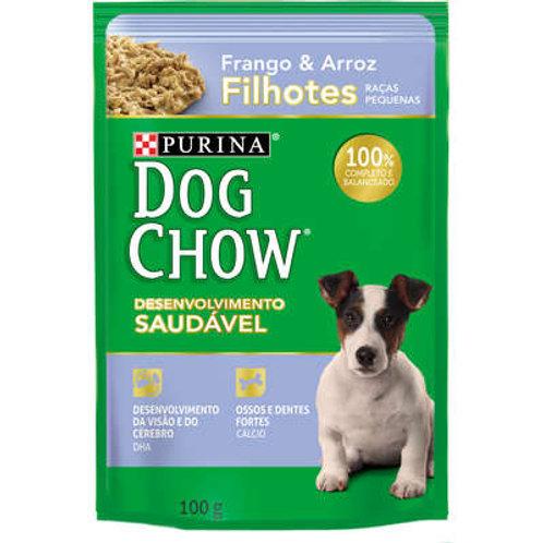 Ração Nestlé Purina Dog Chow Filhotes Raças Pequenas Sachê Frango e Arroz