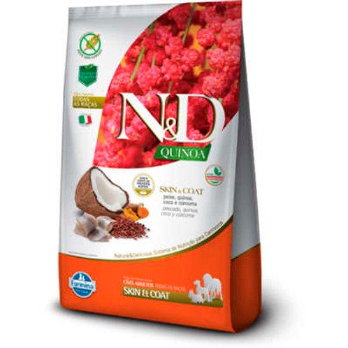 N&D Quinoa Skin & Coat Peixe para Cães Adultos de Todas as Raças