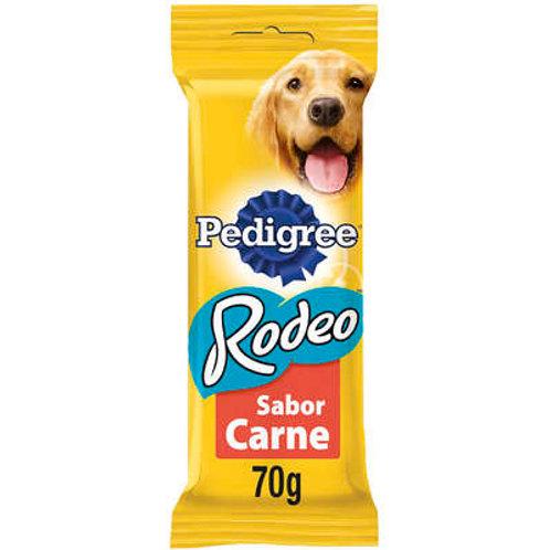 Biscoito Pedigree Rodeo Carne Para Cães Adultos 4 Unidades - 70 g
