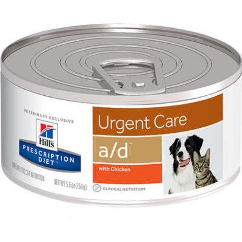 Canine/Feline Prescription Diet A/D Lata para Cães e Gatos em Recuperação - 156