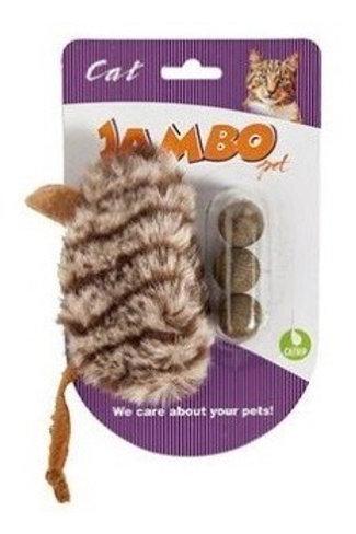 Brinquedo jambo 3 balls catnip