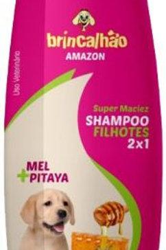 Shampoo Brincalhao Filhotes Mel/pitaya 500ml