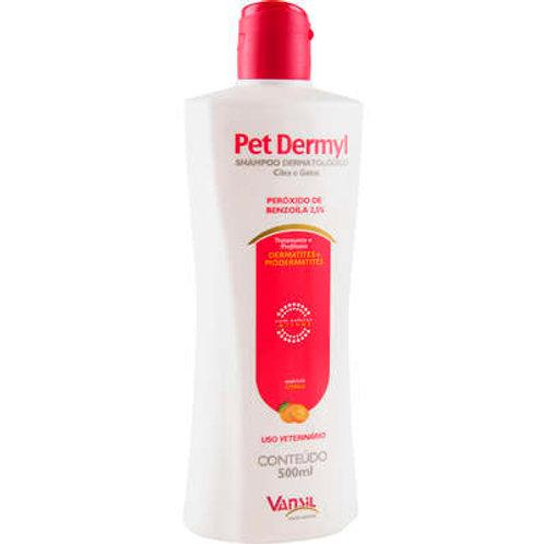 Shampoo Dermatológico Vansil Pet Dermyl para Cães e Gatos