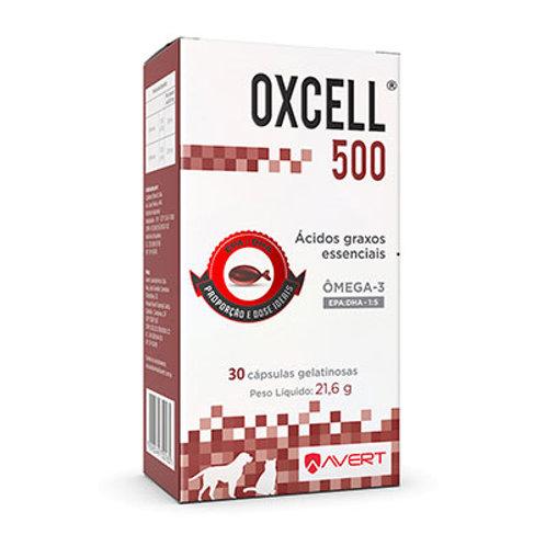 Suplemento Avert Oxcell 500 - 30 Cápsulas