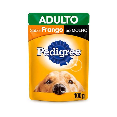 Ração Úmida Pedigree Para Cães Adultos Sachê Sabor Frango - 100g