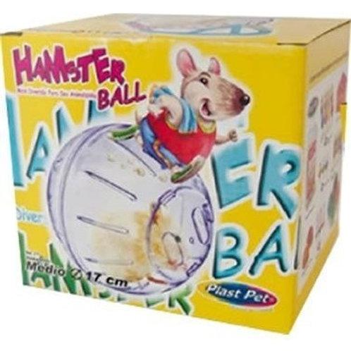 Hamster Ball com suporte PlastPet.