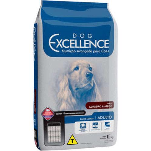 Dog Excellence Cães Adultos Raças Médias Cordeiro e Arroz
