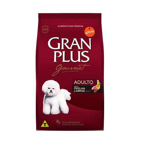 GranPlus Gourmet Para Cães Adultos Sabor Ovelha e Arroz