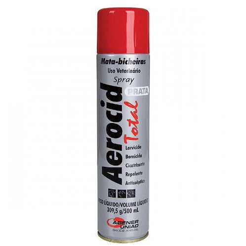 Aerocid Total Prata Spray Agener União 200ml