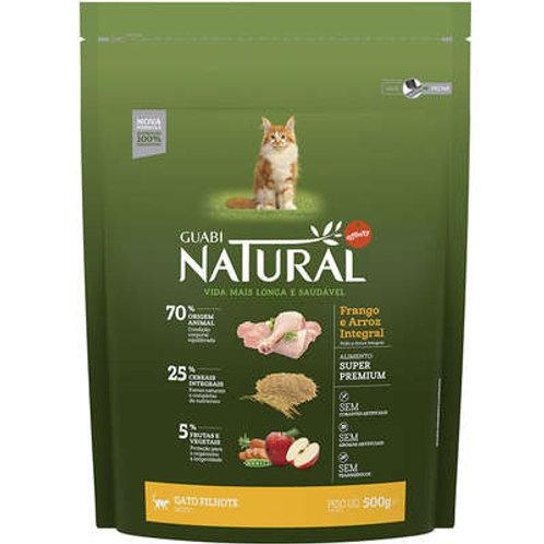 Guabi Natural Frango e Arroz Integral para Gato Filhote