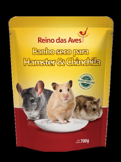 BANHO SECO PARA HAMSTER E CHINCHILA
