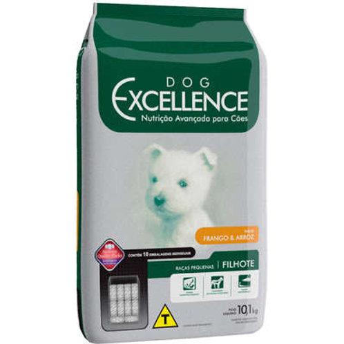 Dog Excellence Cães Filhotes Raças Pequenas Frango e Arroz