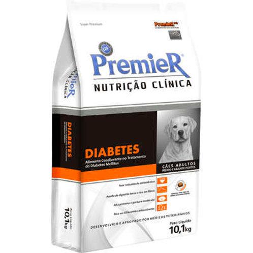 Ração Premier Pet Nutrição Clínica Diabetes para Cães Adultos