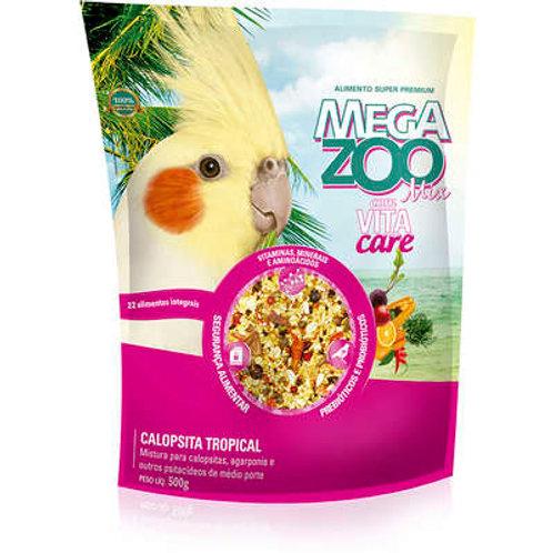 Ração Megazoo Mix para Calopsita Tropical 350g