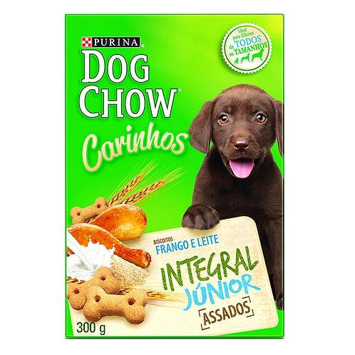 Biscoito Dog Chow Carinhos Integral para Cães Filhotes Sabor Frango e Leite