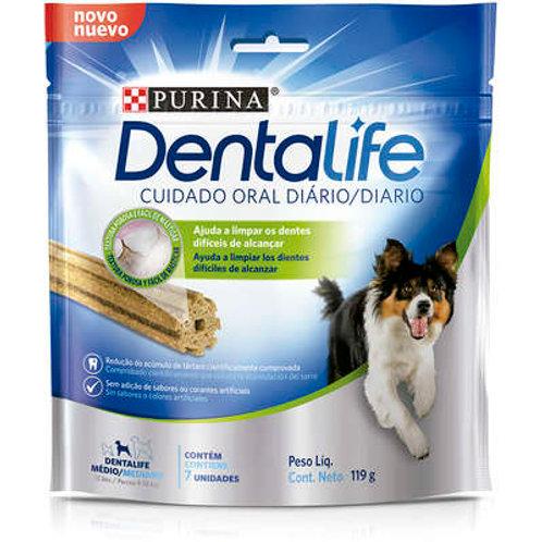 Petisco Nestlé Purina DentaLife Médio para Cães