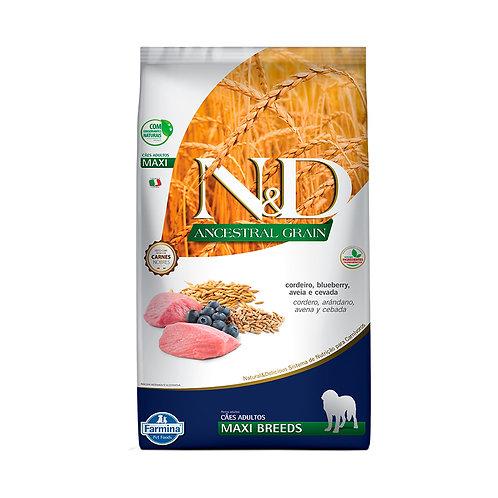 N&D Ancestral Grain para Cães Adultos de Raças Grandes Sabor Cordeiro