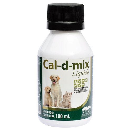 Suplemento Vetnil Cal-D-Mix Líquido - 100ml O Suplemento Vetnil Cal-D-Mix Líquid