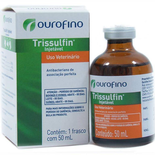 Trissulfin Injetavel 50 Ml - Ouro Fino