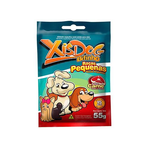 Petisco Xis Dog Bifinho para Cães Adultos e Filhotes Raças Pequenas Carne - 55g