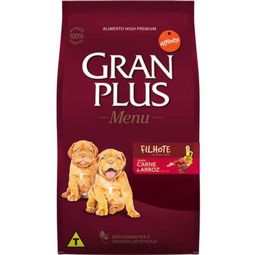 GranPlus Menu Carne e Arroz para Cães Filhotes