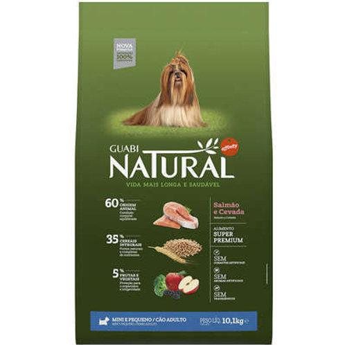 Guabi Natural Salmão e Cevada para Cães Adultos Raças Mini e Pequena