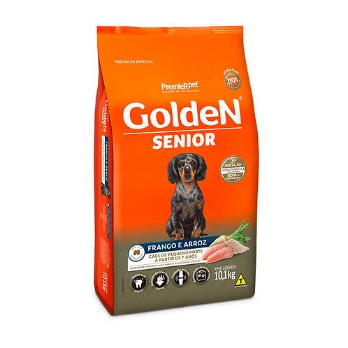 Mini Bits Senior para Cães Adultos de Pequeno Porte Sabor Frango e Arroz
