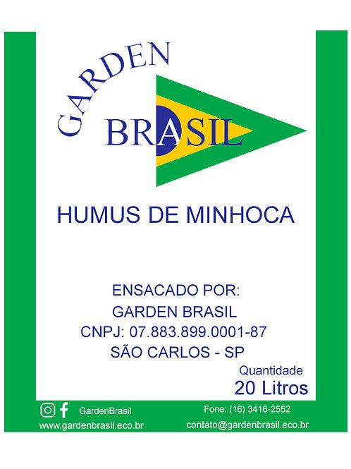 Humus de Minhoca 20 Litros