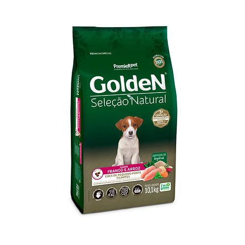 Golden Seleção Natural para Cães Filhotes de Raças Pequenas Mini Bits